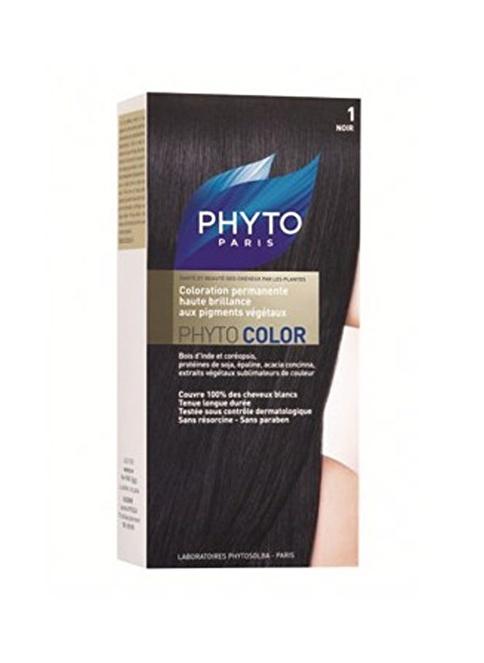 PHYTO Phytocolor Saç Boyası No: 1 Noir - Siyah Siyah